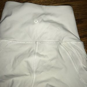 White lululemon pants
